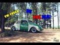 VW FUSCA 1974 - POLIZEI DE POLICIA!? - 2 & 4 Wheels