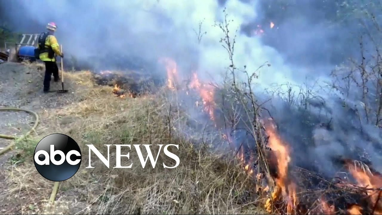 California fires still out of control