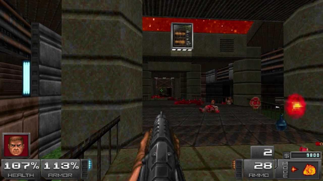 Modes of Destruction weapon mod for ZDoom - BTSX map01 ...