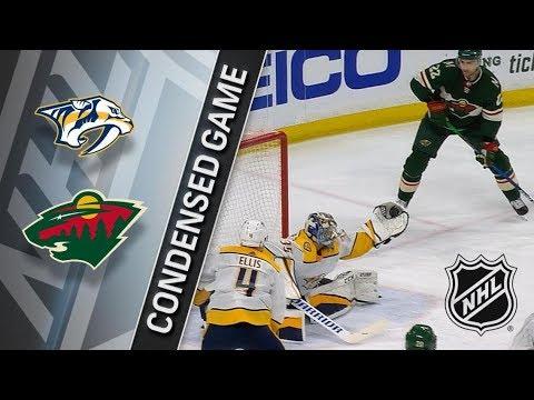 Nashville Predators vs Minnesota Wild March 24, 2018 HIGHLIGHTS HD