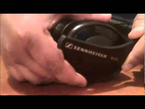 How to Repair SENNHEISER HD 202 headphones - YouTube 53e3a34ee1