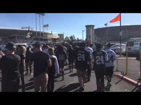 Oakland Raiders Fans Party On Way To Game #NYJvsOAK - Zennie62