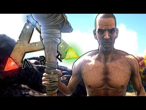 SAY HI TO CAVEMAN KROJAK! - ARK: Survival Evolved #1