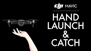 By Request - DJI Mavic Pro Hand Launch & Catch, landing options