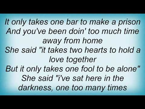 Tracy Lawrence - It Only Takes One Bar Lyrics