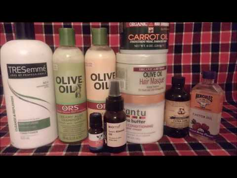CURRENT PRODUCTS FOR MY RELAXED HAIR, AUG 2017, feat ORS