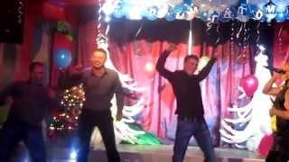 """Конкурс в РЦ """"Ривьера"""" в новогоднюю ночь 2012-2013г. г. Серов"""