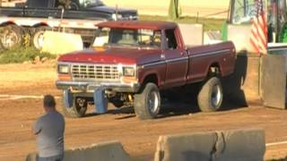 CHEATER STOCK GAS 4X4 TRUCK PULLS 2014 EATON OH FALL PULL