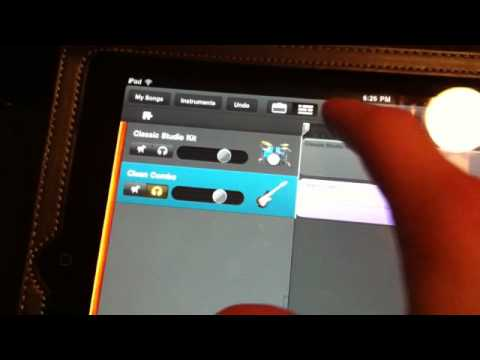 how to use irig with garageband