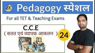 Pedagogy SPECIAL | सतत एवं व्यापक आकलन ( C.C.E ) For all TET & Teaching Exams | DK Gupta