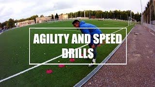 Agility and Speed Drills | Тренировка скорости бега | ASG