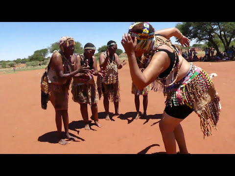 Khoisan Grand Mothers dancing