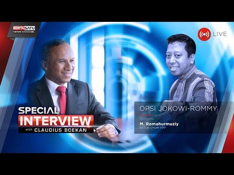 Special Interview with Claudius Boekan: Opsi JokowiRommy