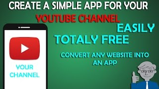How to Create a simple android app for your youtube channel | increase your youtube views