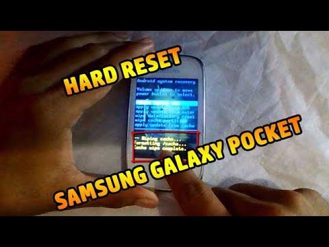 Desbloquear / Resetear de Fabrica Samsung Galaxy Pocket.