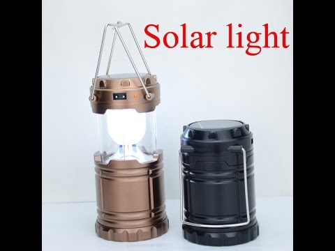 UnBoxing - No.1 Ranked Solar Rechargeable Lantern in Home & Kitchen Amazon  - Hindi