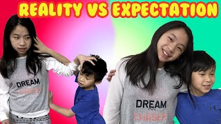 Expectation VS Reality Pretend Play Prank