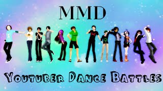 || MMD || Youtuber Dance Battles