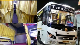 """TRANZKING"" CHENNAI TO PALANI  TRAVEL EXPERIENCE AC SEMI SLEEPER COCHA."