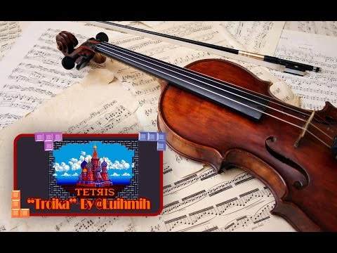 Tetris (Original Arcade Game): Troika - Electric Violin