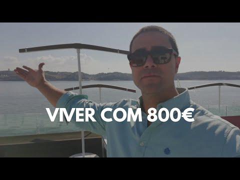 Viver em Portugal com 800