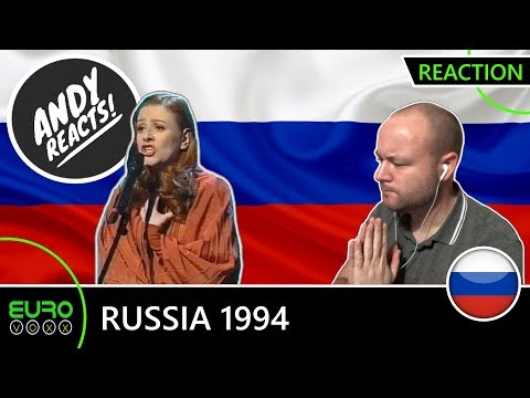 ANDY REACTS! Russia Eurovision 1994 Youddiph REACTION!