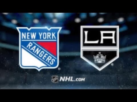 New York Rangers Vs Los Angeles Kings
