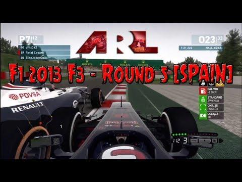 F1 2013 •  ARL F3 • Round 5 • Spain