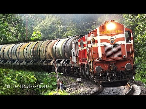OIL TANKER TRAINS ( Petroluem & Gas ) : Indian Railways