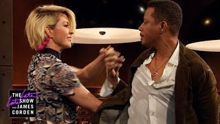 Jenna Elfman & Terrence Howard Do the Tango