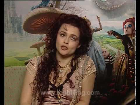 Top Billing Alice In W... Helena Bonham Carter Interview