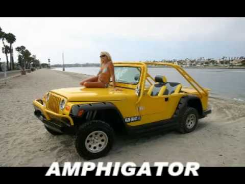 Free Car History Report >> Amphibious Vehicle Race and HISTORY, KITS & PRODUCTION - YouTube