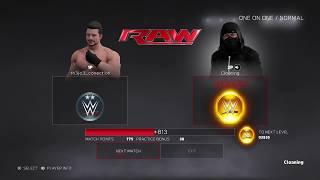 WWE 2K17 1v1 online