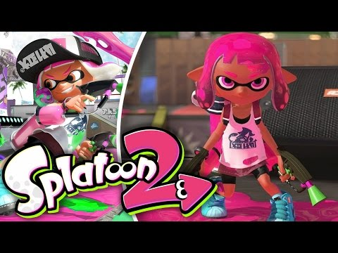 Las primeras manqueadas- Splatoon 2 (BETA) con @Naishys (Switch)