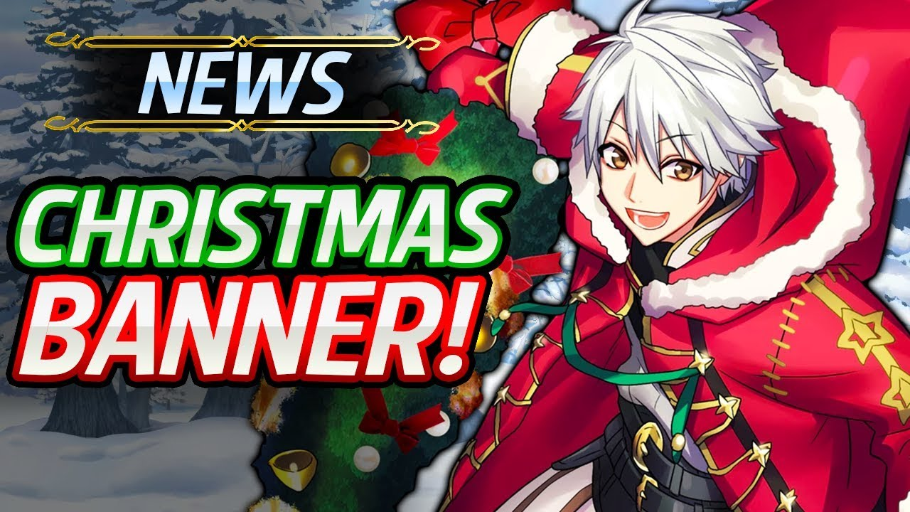 Fe Heroes Christmas.Fire Emblem Heroes Upcoming Christmas Banner