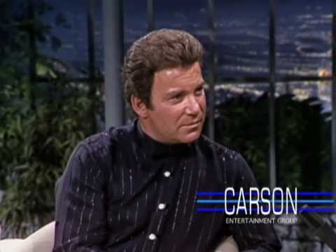Star Trek Actor William Shatner discusses Star Trek SFX & TJ Hooker, Johnny Carson's Show 1982