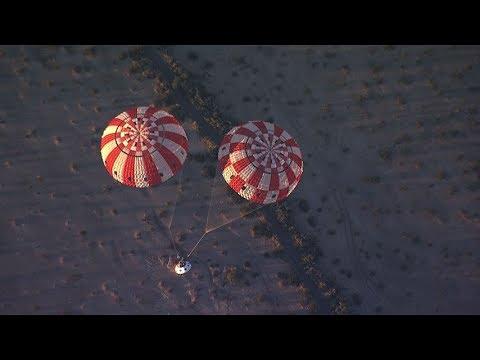 Orion Spacecraft Parachutes Test, 15 December 2017