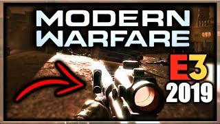 Call of Duty Modern Warfare Gameplay At E3 2019 WAS SHOWN... but... there's a catch (COD MW E3 2019)