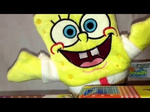 SpongeBob Handpuppets Toys from Nickelodeon TV Series/Baby music Show