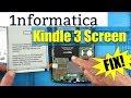 - Kindle 3 Screen Replacement Tutorial Model D00901 Repair Fix