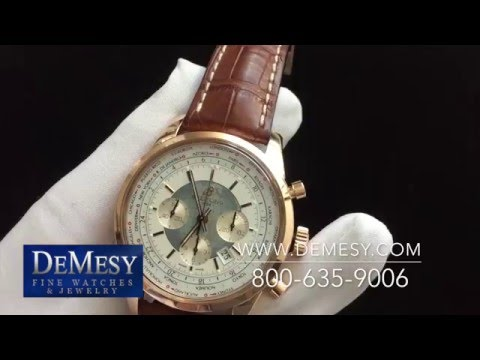 Breitling Transocean Chronograph Unitime World Time RB0510UO/A733-2CT Review
