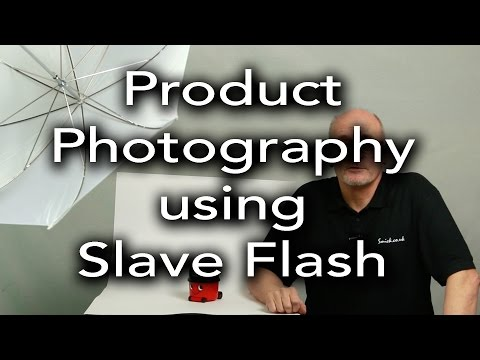 Product Photography Tutorial Using Slave Flash