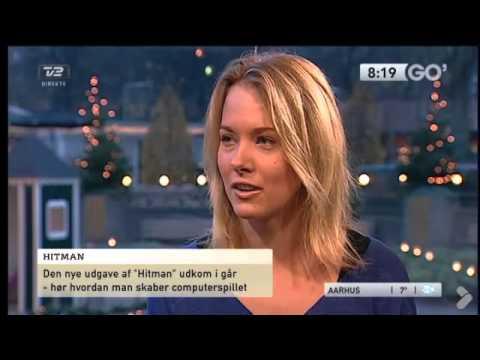 Danish Actress Mette Lysdahl in famous TV
