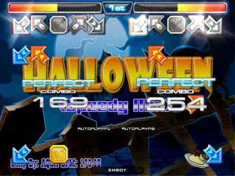 [Pump It Up Stepfile] Halloween (Speedy Mix) - Aqua (S8,S17)
