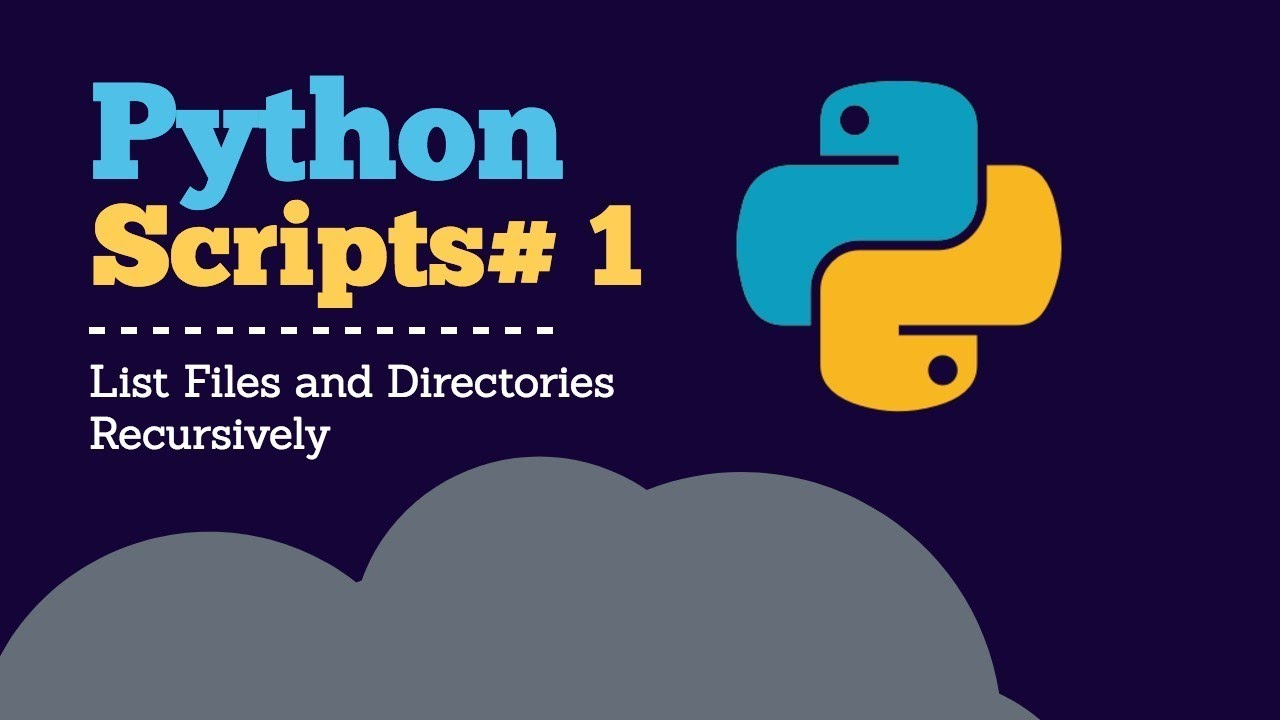 python list all files in directory and subdirectories