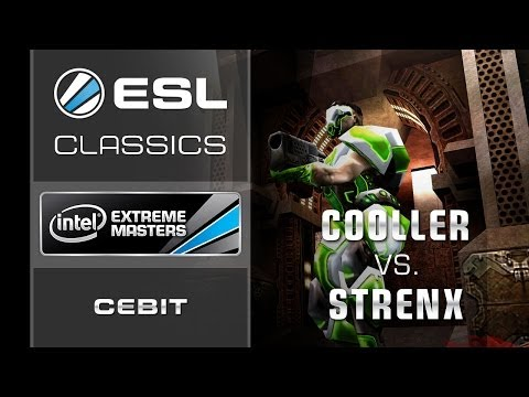 ESL Classics: Cooller vs. strenx - Semi Final - IEM CeBIT 2011 - Quake Live