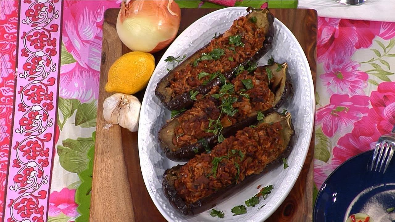 'Eggplant Boat' Recipe Courtesy of Maria Menounos