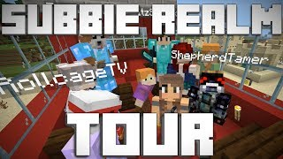 Subbie Realm World Tour! Surprise Ending Included! - Minecraft Bedrock Edition [1.11]