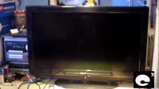 Another Yard Sale TV - Insignia 32 inch 720P LCD TV