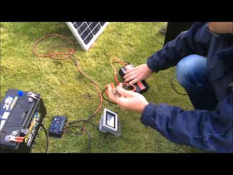 How to set up a solar panel, regulator, battery and Inverter - Free 240V Electricity, Part 2